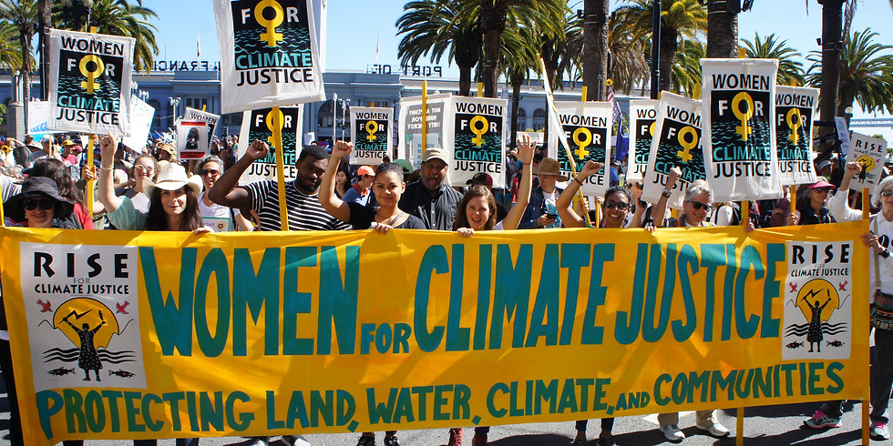 San Francisco Global Climate Strike - Women for Climate Justice Contingent