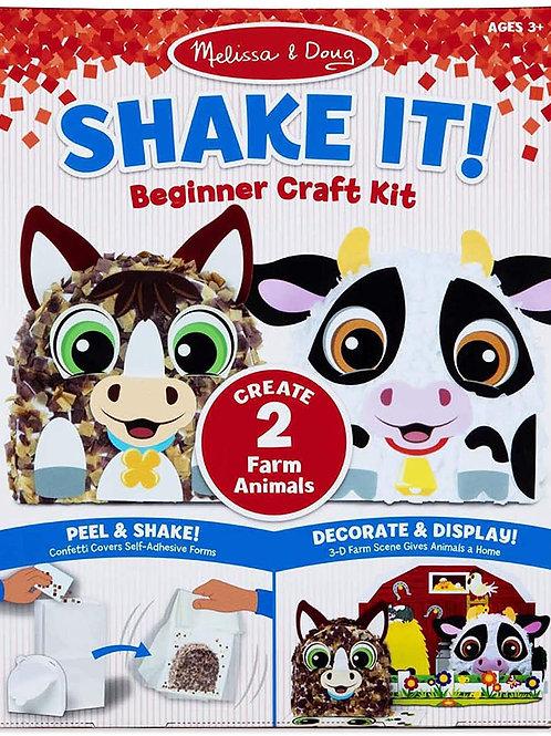 Shake It! Farm Animals Beginner Craft Kit