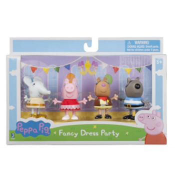 Peppa Pig 4-Character Set