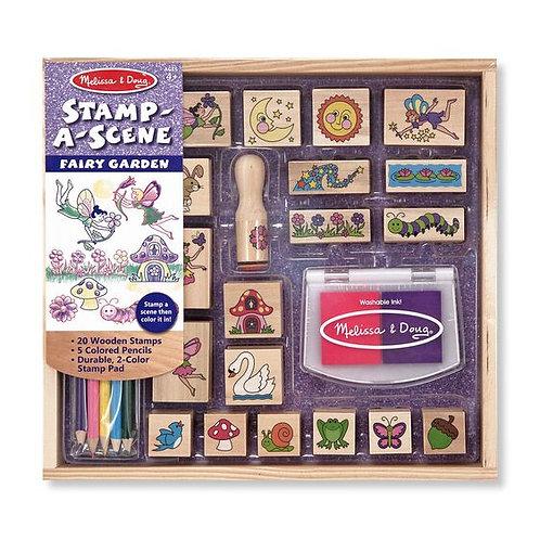 Wooden Stamp Set - Fairy Garden