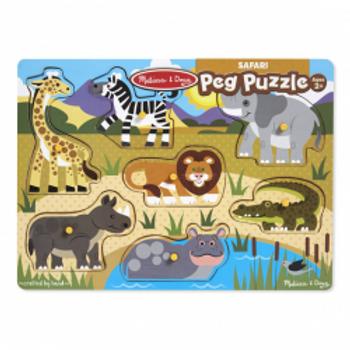 Safari Peg Puzzle
