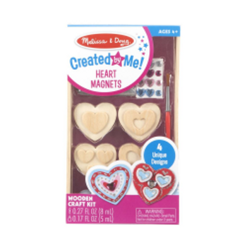 Heart Magnets - Created by Me