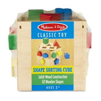 Shape Sorting Cube (wooden)