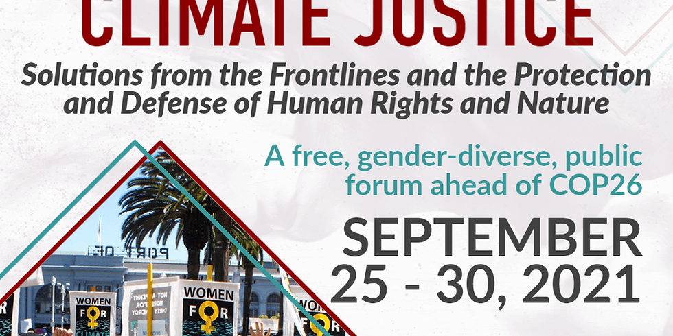 Women's Assembly for Climate Justice 2021