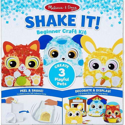 Shake It! Deluxe Playful Pets Beginner Craft Kit