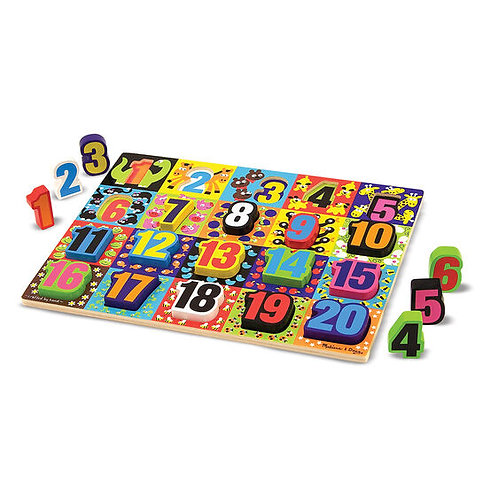 umbo Numbers Chunky Puzzle