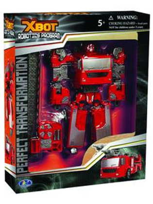 Xbot Transforming Fire Engine