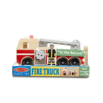Fire Engine (Melissa & Doug Wooden Toy)
