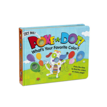 What's Your Favorite Color? (Poke-a-Dot Book)