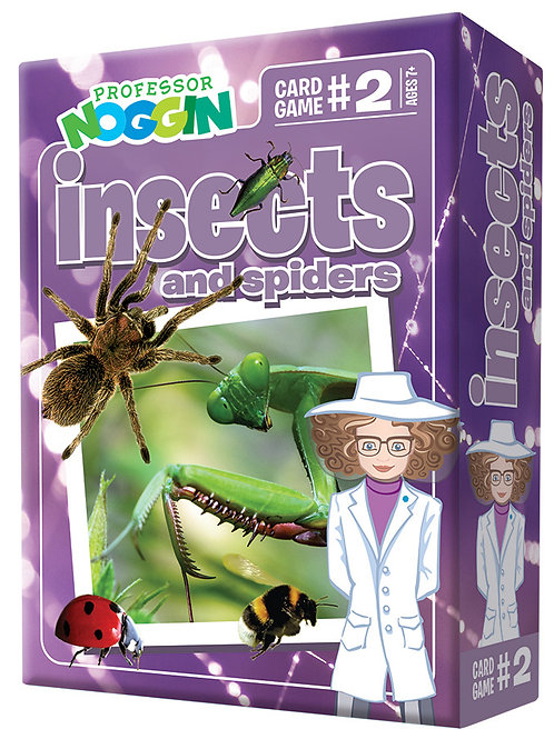 Professor Noggin's - Insects and Spiders