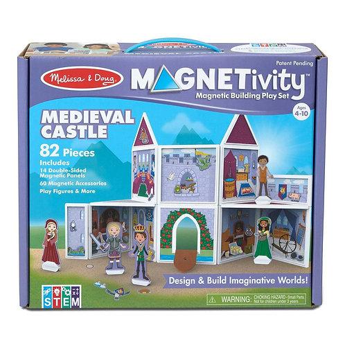 Magnetic Building Set - Medieval Castle
