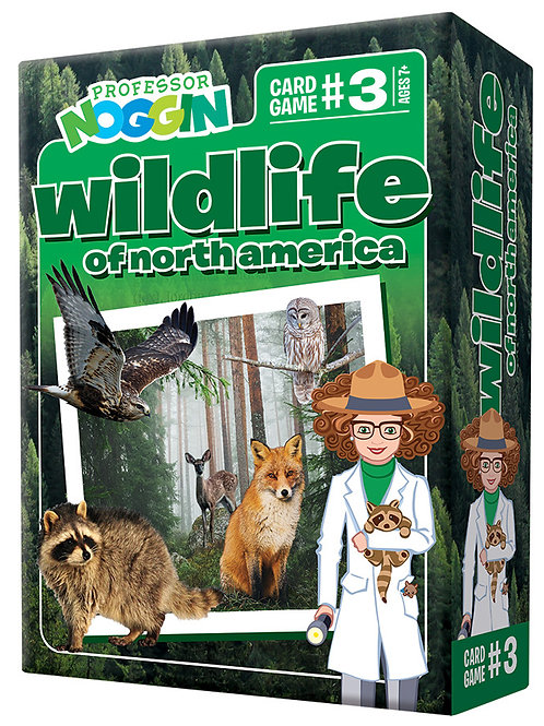 Professor Noggin's - Wildlife of North America