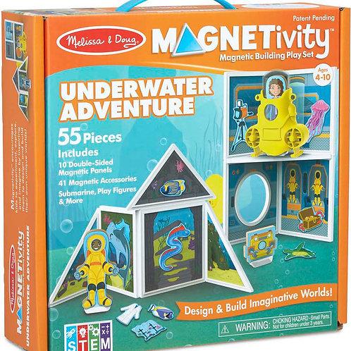 Magnetic Building Set - Underwater Adventure