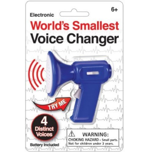 Mini Voice Changer - BLUE