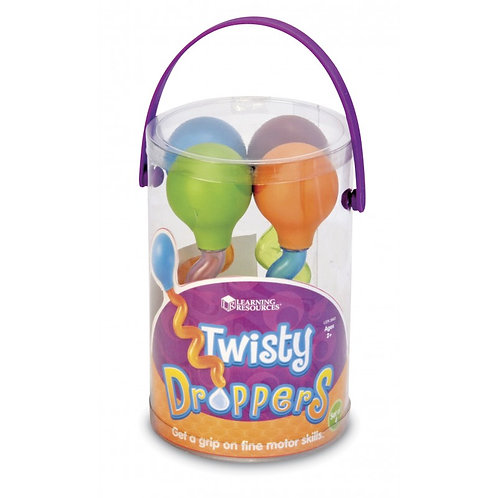 Twisty Droppers (set of 4)