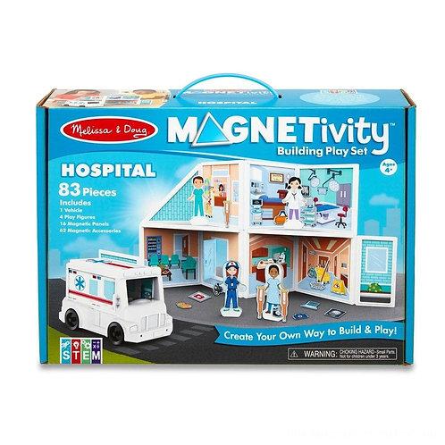 Magnetic Building Set - Hospital