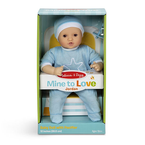 Mine to Love Jordan 12-Inch Baby Doll