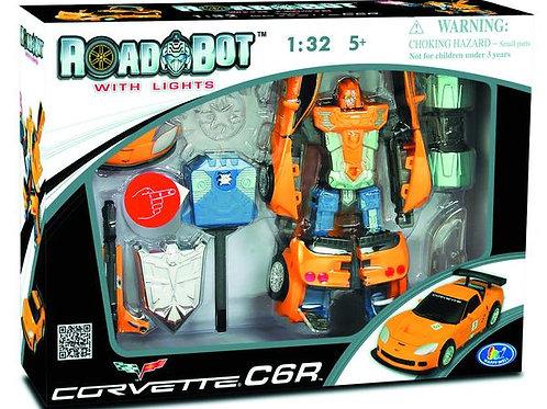 Road Bot Transforming Corvette C6.R