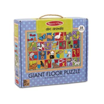 ABC Animals Giant Floor Puzzle (35 pieces)