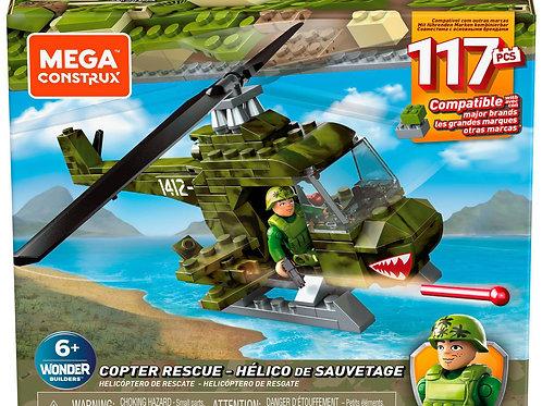 Mega Construx  Copter Rescue (117 pieces)