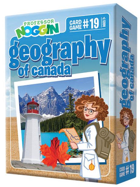Professor Noggin's - Geography of Canada