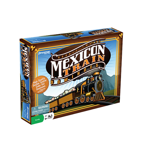 Double Twelve Mexican Train Dominoes