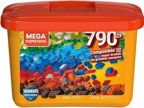 Mega Construx  Building Tub (790 pieces)