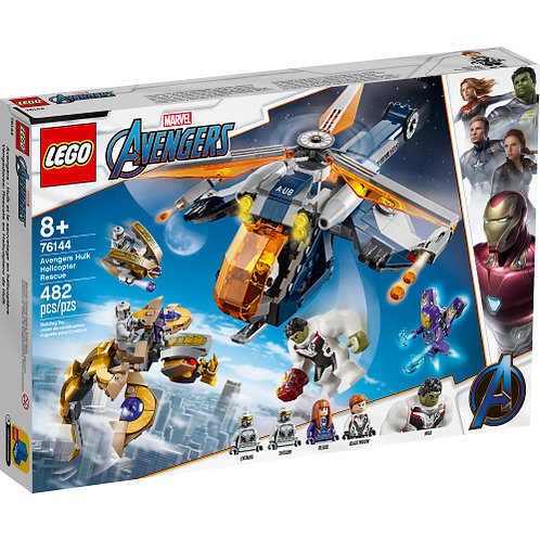 Avengers Hulk Helicopter Rescue