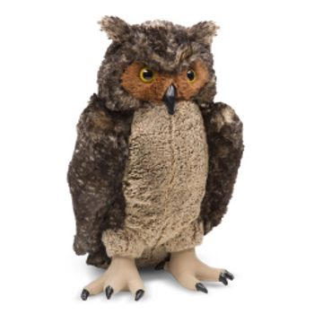 Large Plush Owl