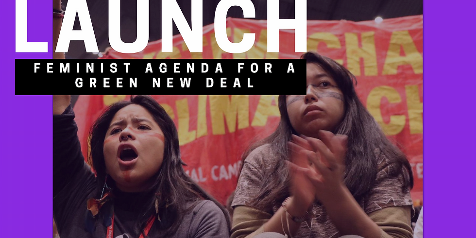 The Launch of a Feminist Agenda for the Green New Deal