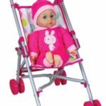 Doll/Stroller Combo Set