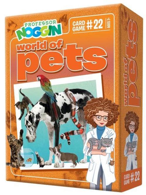 Professor Noggin's - World of Pets