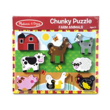 Farm Animals Chunky Puzzle
