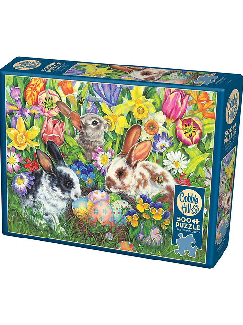 Cobble Hill Easter Bunnies 500 pc puzzle