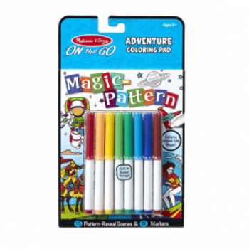 Magic Pattern Adventure Colouring Pad