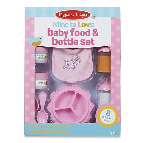 Mine to Love baby food & bottle set