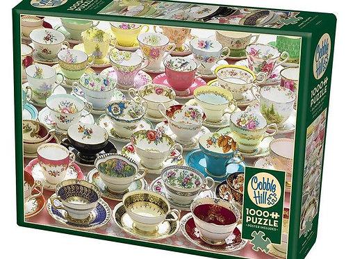 More Teacups (1000 pieces)