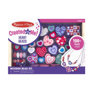 Wooden Heart Bead Kit - Created by Me