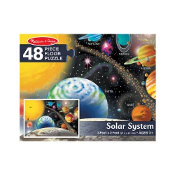 Solar System Floor Puzzle (48 pieces)