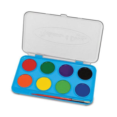 Jumbo Watercolor Paint Set (8 colours)