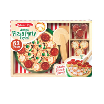 Pizza Party Play Set (wooden)