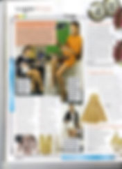 Estelle Rubio featured in Vogue Magazine