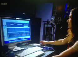 On BBC 2 playing with Auto-Tune!