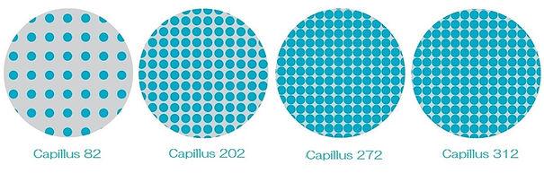 Capillus(カピラス)の4モデルの低出力レーザーの照射密度の違い