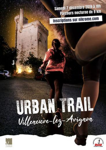 urban trail villeneuve lez avignon Cryot