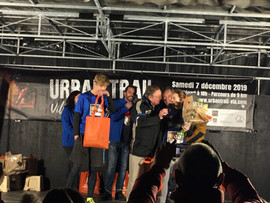 podium urban trail villeneuve lez Avigno