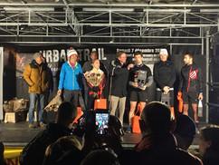 podium nocturne de Villeneuve lez avigno