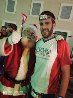 le père Noël aime la Cryothérapie du Gar