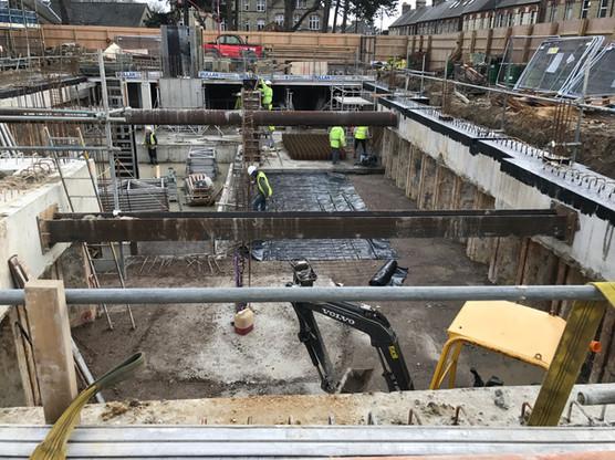 Mill Road, Cambridge - Basement Works