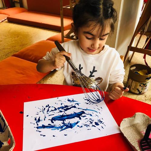 Atölye Kuşağı Anaokulu Sanat Atölyesi
